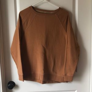 Camel American Eagle Pullover Sweater